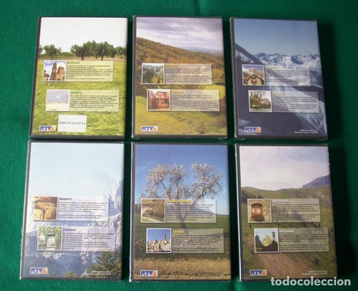 Cine: VIAJAR POR ARAGÓN - RTVA - DVD NÚMEROS 1, 3, 4,5, 6 Y 7 Números 3 al 7 PRECINTADOS - Foto 2 - 177961283