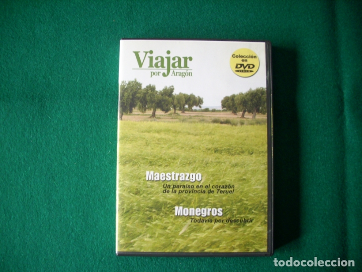 VIAJAR POR ARAGÓN - Nº 1 - MAESTRAZGO - MONEGROS - DVD RTVA (Cine - Folletos de Mano - Documentales)
