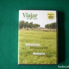 Cine: VIAJAR POR ARAGÓN - Nº 1 - MAESTRAZGO - MONEGROS - DVD RTVA. Lote 177961532
