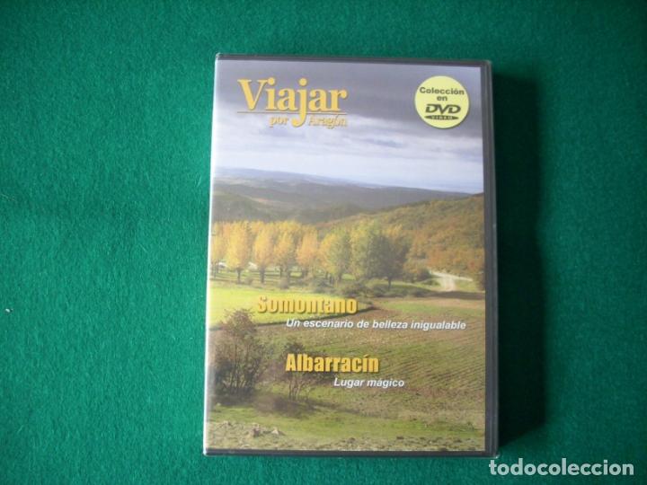 VIAJAR POR ARAGÓN - Nº 3 - SOMONTANO - ALBARRACÍN - DVD RTVA - PRECINTADO (Cine - Folletos de Mano - Documentales)