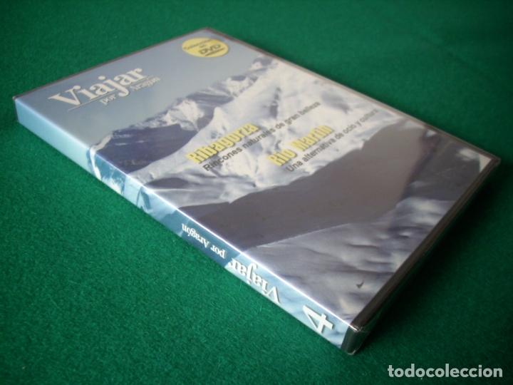 Cine: VIAJAR POR ARAGÓN - Nº 4 - RIBAGORZA - RÍO MARTÍN - DVD RTVA - PRECINTADO - Foto 2 - 177961717