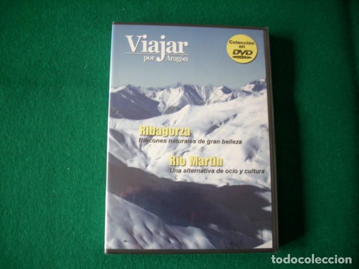 VIAJAR POR ARAGÓN - Nº 4 - RIBAGORZA - RÍO MARTÍN - DVD RTVA - PRECINTADO (Cine - Folletos de Mano - Documentales)