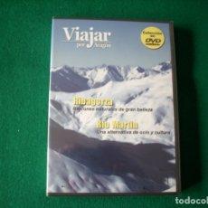 Cine: VIAJAR POR ARAGÓN - Nº 4 - RIBAGORZA - RÍO MARTÍN - DVD RTVA - PRECINTADO. Lote 177961717