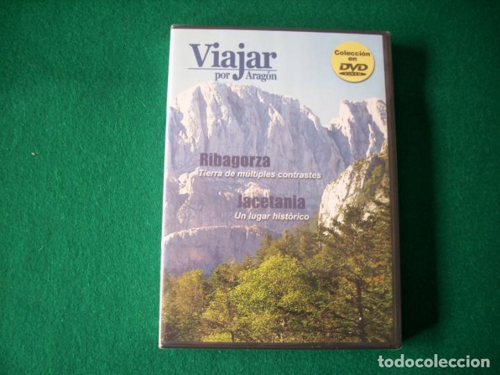 VIAJAR POR ARAGÓN - Nº 5 - RIBAGORZA - JACETANIA - DVD RTVA - PRECINTADO (Cine - Folletos de Mano - Documentales)