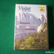 Cine: VIAJAR POR ARAGÓN - Nº 5 - RIBAGORZA - JACETANIA - DVD RTVA - PRECINTADO. Lote 177961799