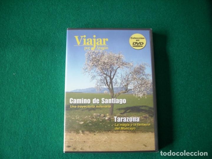 VIAJAR POR ARAGÓN - Nº 6 - CAMINO DE SANTIAGO - TARAZONA - DVD RTVA - PRECINTADO (Cine - Folletos de Mano - Documentales)