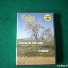 Cine: VIAJAR POR ARAGÓN - Nº 6 - CAMINO DE SANTIAGO - TARAZONA - DVD RTVA - PRECINTADO. Lote 177961892