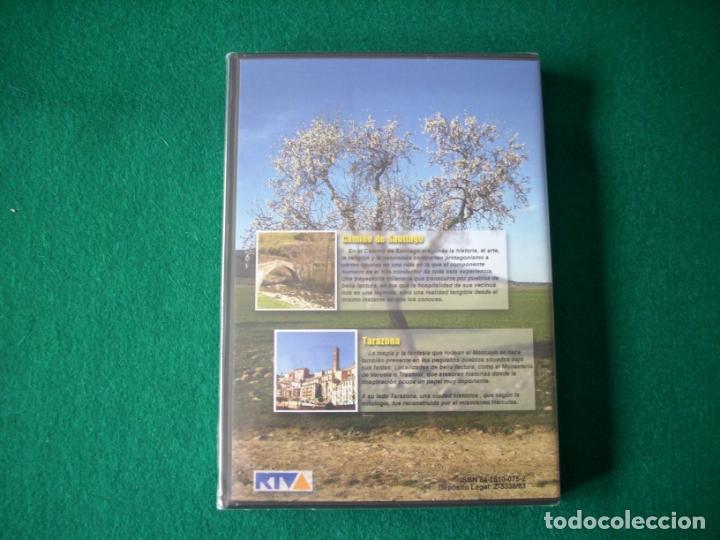 Cine: VIAJAR POR ARAGÓN - Nº 6 - CAMINO DE SANTIAGO - TARAZONA - DVD RTVA - PRECINTADO - Foto 3 - 177961892