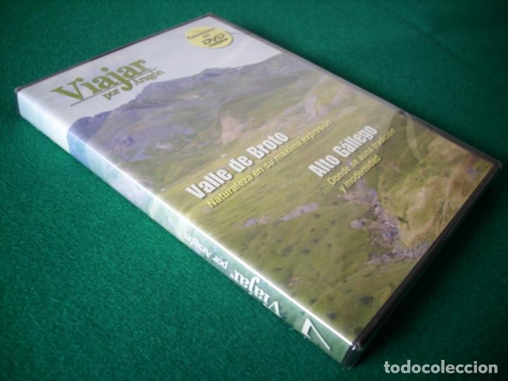 Cine: VIAJAR POR ARAGÓN - Nº 7 - VALLE DE BROTO - ALTO GÁLLEGO - DVD RTVA - PRECINTADO - Foto 2 - 177961953