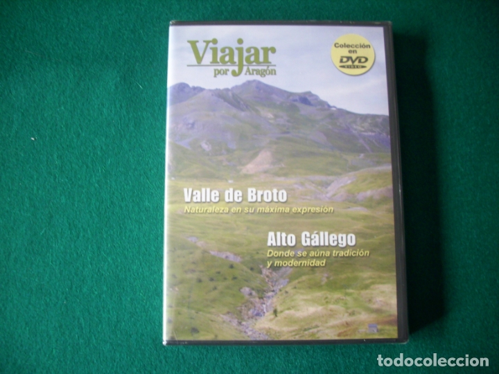 VIAJAR POR ARAGÓN - Nº 7 - VALLE DE BROTO - ALTO GÁLLEGO - DVD RTVA - PRECINTADO (Cine - Folletos de Mano - Documentales)