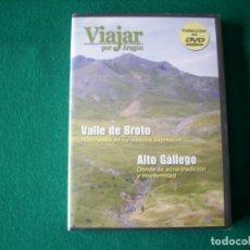 Cine: VIAJAR POR ARAGÓN - Nº 7 - VALLE DE BROTO - ALTO GÁLLEGO - DVD RTVA - PRECINTADO. Lote 177961953