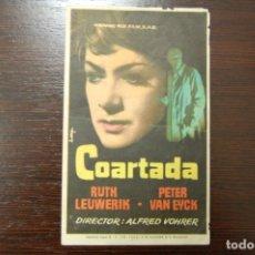 Cine: COARTADA - CINE AVENIDA (VILLENA). Lote 178035104