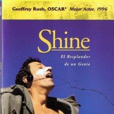 Cine: SHINE - EL RESPLANDOR DE UN GENIO. Lote 178074538