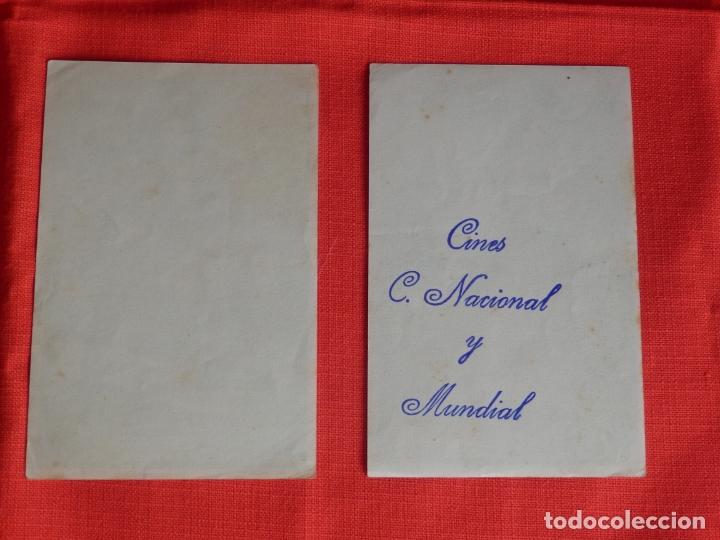 Cine: los tres caballeros, 2 sencillos originales, walt disney,1 con sello publiCine c. Nacional y Mundial - Foto 2 - 178131523