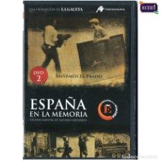 Flyers Publicitaires de films Anciens: DVD Nº 2 ESPAÑA EN LA MEMORIA - SALVEMOS EL PRADO. NUEVO**. Lote 178153365
