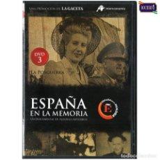 Cine: DVD Nº 3 ESPAÑA EN LA MEMORIA - LA POSGUERRA. NUEVO**. Lote 178153443