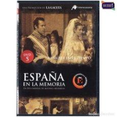 Cine: DVD Nº 5 ESPAÑA EN LA MEMORIA - LA MUJER EN EL TIEMPO. NUEVO**. Lote 178153888