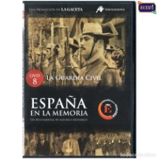 Cine: DVD Nº 8 ESPAÑA EN LA MEMORIA - LA GUARDIA CIVIL. NUEVO**. Lote 178154248