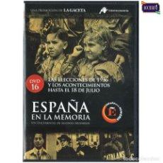 Flyers Publicitaires de films Anciens: DVD Nº 9 ESPAÑA EN LA MEMORIA - LA BRIGADA PARACAIDISTA. NUEVO**. Lote 178154383
