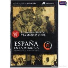 Flyers Publicitaires de films Anciens: DVD Nº 18 ESPAÑA EN LA MEMORIA - EL SAHARA ESPAÑOL Y LA MARCHA VERDE. NUEVO**. Lote 178155158