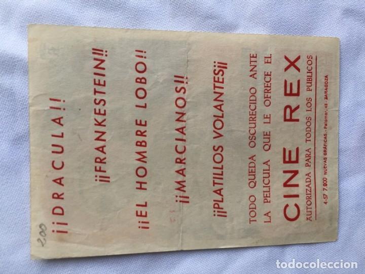 Cine: El experimento del Dr. Quatermass Cine Rex Zaragoza - Foto 2 - 178157563