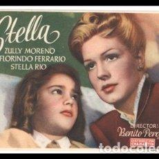 Cine: FOLLETO DE MANO, STELLA, ZULLY MORENO, FLORINDO FERRARIO Y STELLA RIO.. Lote 178308432