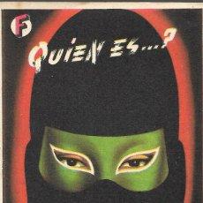 Cine: PROGRAMA DE CINE - FANTOMAS - MARCEL HERRAND, SIMONE SIGNORET - CINE PERELLÓ (MELILLA) - 1947.. Lote 178331408