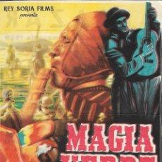 Cine: PROGRAMA DE CINE - MAGIA VERDE GIANGASPARE NAPOLITANO - CINE ALKAZAR (MÁLAGA) - 1959.. Lote 178404171
