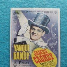 Cine: YANQUI DANDY. JAMES CAGNEY, JOAN LESLIE, WALTER HUSTON.. Lote 178443188