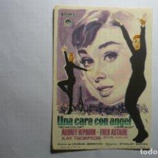 Cine: PROGRAMA UNA CARA CON ANGEL FRED ASTAIRE PUBLICIDAD. Lote 178448772
