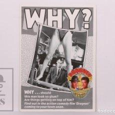 Cine: PROGRAMA / POSTAL DE PELÍCULA - DOS SABUESOS DESPISTADOS - TOM HANKS DAN AYKROYD - CINE NUEVO, 1988. Lote 178569716