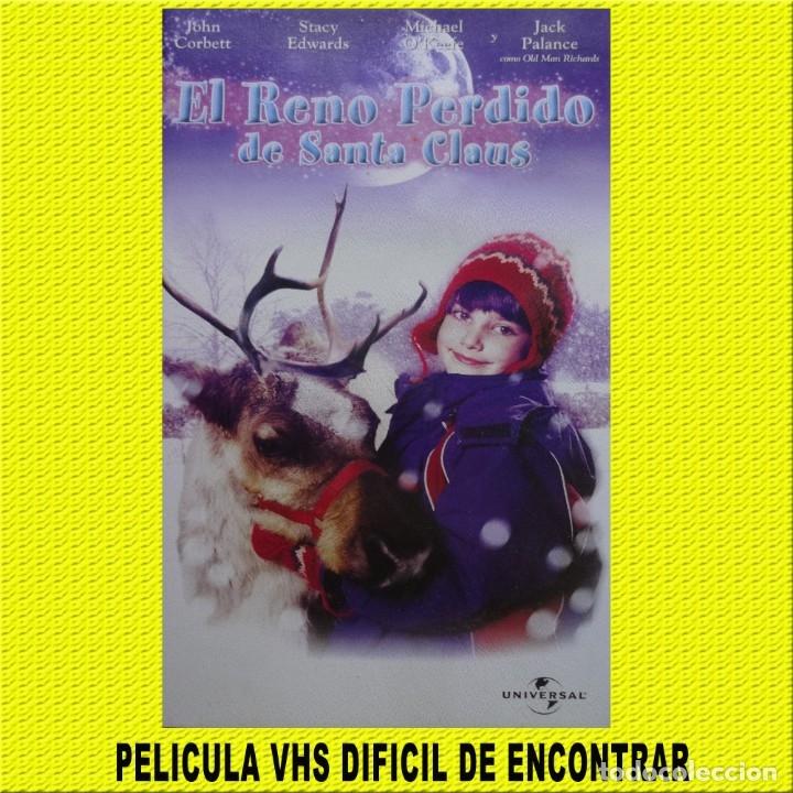 VHS PELICULA EL REINO PERDIDO DE SANTA CLAUS (Cine - Folletos de Mano - Infantil)