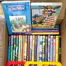 Cine: LOTE PACK 60 DVD PELICULAS INFANTILES VARIADAS - TRES MELLIZAS, HEIDI, BARRIO SESAMO. Lote 178687798