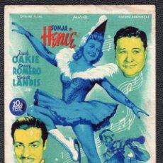 Cine: POR FIN SE DECIDIO - FOLLETO DE MANO (9,6 CM. X 13,8 CM) - ORIGINAL 1946 -PUBLICIDAD EN REVERSO. Lote 178723922