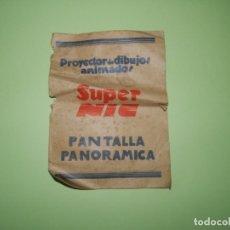 Cine: FOLLETO-- PROYECTOR DE DIBUJOS ANIMADOS SUPER NIC PANTALLA PANORAMICA. Lote 178876152