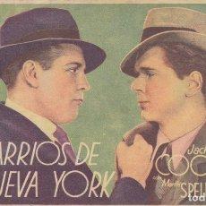 Cine: BARRIOS DE NUEVA YORK. Lote 178930335