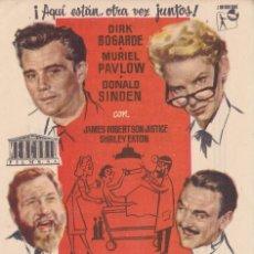 Folhetos de mão de filmes antigos de cinema: UN MÉDICO FENOMENO . Lote 179002738