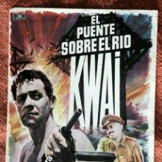 Cine: EL PUENTE SOBRE EL RIO KWAI. Lote 179014853