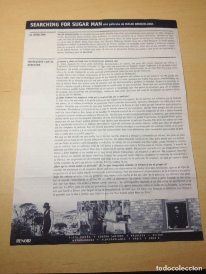 Cine: SEARCHING FOR SUGAR MAN - Ficha Tëcnica - Foto 2 - 179041387