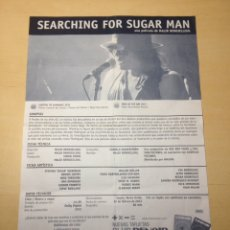 Cine: SEARCHING FOR SUGAR MAN - FICHA TËCNICA. Lote 179041387