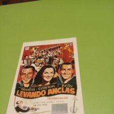 Cine: LEVANDO ANCLAS. Lote 179339523