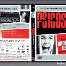 Cine: EDICION CONMEMORATIVA 2 DISCOS - PSICOSIS ANTHONY PERKINS Y JANET LEIGH,DVD. Lote 179398706