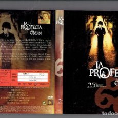 Cine: LA PROFECIA - LA MALDICION DE DAMIEN Y EL FINAL DE DAMIEN DVDS. Lote 179399178
