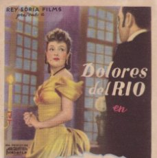 Folhetos de mão de filmes antigos de cinema: HISTORIA DE UNA MALA MUJER. Lote 179527517