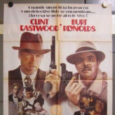 Cine: ZW97 CIUDAD MUY CALIENTE CLINT EASTWOOD BURT REYNOLDS POSTER ORIGINAL 70X100 ESTRENO. Lote 179531193