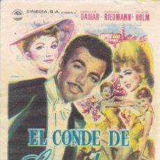 Cine: EL CONDE DE LUXEMBURGO. Lote 180005087