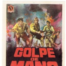 Cine: GOLPE DE MANO. Lote 180181503