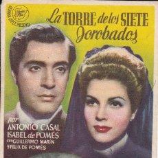 Cine: LA TORRE DE LOS SIETE JOROBADOS. Lote 180186513