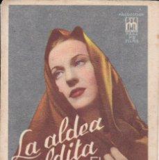 Cine: LA ALDEA MALDITA. Lote 180186546