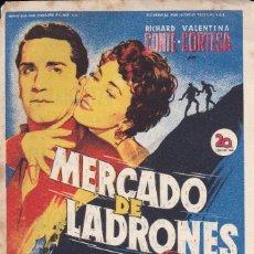 Cine: MERCADO DE LADRONES. Lote 180186932